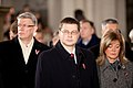Ministru prezidents Valdis Dombrovskis piedalās Ekumēniskajā dievkalpojumā Doma baznīcā (6357251439).jpg