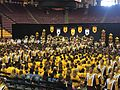 Minnesota Marching Band at 2015 Convocation.JPG