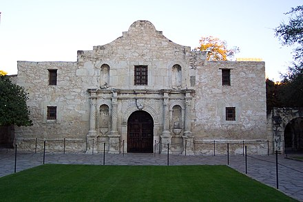 The Alamo is one of the most recognized symbols of Texas. - Texas