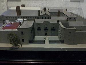 Kilmainham Gaol - Model of Kilmainham Gaol