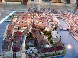 Kneiphof - Reconstruction of Kneiphof in Kaliningrad's museum