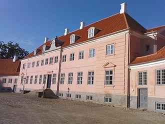 Moesgaard Museum - Main building of the Moesgaard Manor, a department of the institutes of archaeology and anthropology, Aarhus University.