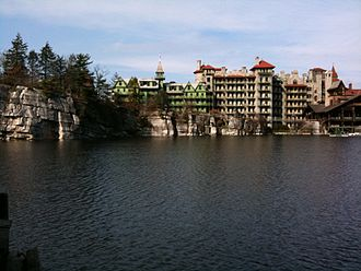 New York State Association of Independent Schools - Mohonk Mountain House in the fall