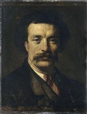 Ernest-Eugène Hiolle - Ernest Hiolle,  by Alphonse Monchablon.