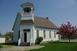 Hull–Wolcott House - The Monclova Country Church.
