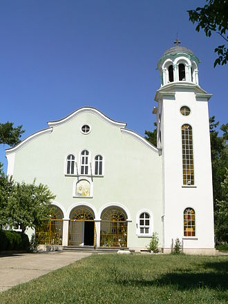 Montana, Bulgaria - Image: Montana Bulgaria church Cyril and Methodius outside