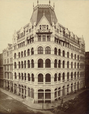 Albert Lévy (photographer) - Montgomery Building, Boston by Cummings and Sears