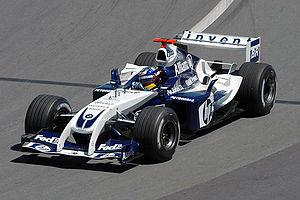 Williams FW26 - Image: Montoya 2004 Canada
