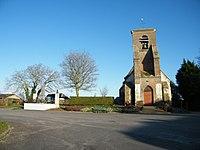 Monument et église - Saigneville.JPG
