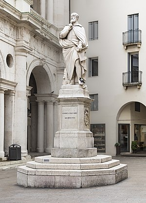 Andrea Palladio - Statue of Palladio in Vicenza