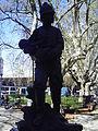 Monumento al bombero en la plaza delos 33, en el àngulo de las calles Minas y Colonia..JPG