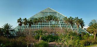 Moody Foundation - Moody Gardens' Rainforest Pyramid
