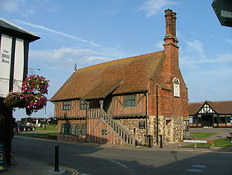 Moot hall - The Moot Hall in Aldeburgh, Suffolk