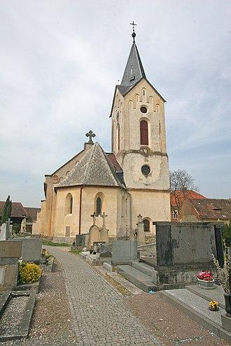 Morašice (Chrudim District) - Image: Morašice kostel svatého Víta 3