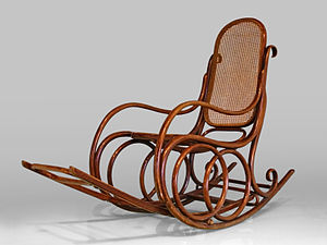 Rocking chair - A Thonet rocking chair