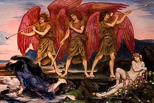 Evelyn De Morgan - Aurora Triumphans