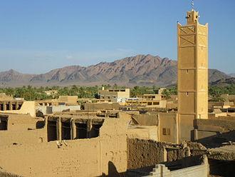 Figuig - Image: Mosquée du ksar Zenaga à Figuig