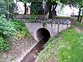 Motolský potok, nad Mlýnským rybníkem.jpg