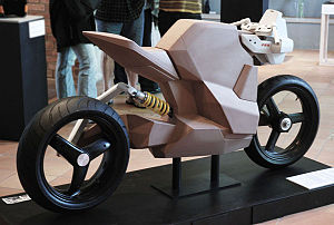A conceptual form study on a racing bike for t...