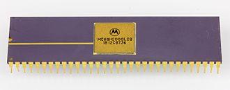 Motorola 68000 - Motorola MC68HC000LC8