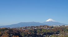 Mount Fuji and Mount Ashitaka 20101204.jpg