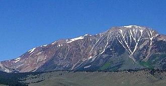 Mount Gibbs - Mount Gibbs, June 2004