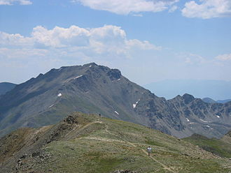 Mount Harvard - Image: Mount Harvard (Colorado) 2006 07 16