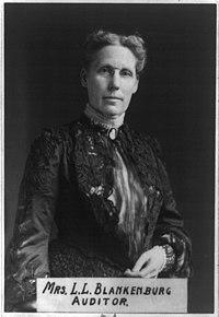 Mrs. Rudolph Blankenburg, half-length portrait, facing right LCCN96524616.jpg