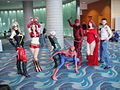 Ms Marvel, Iron Babe, Speed, Spider-Man, Daredevil, Scarlet Witch, Wolverine (5134635574).jpg
