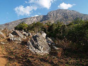 Monte Binga - Monte Binga north face