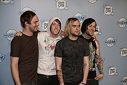 The Used bei den MuchMusic Video Awards 2007