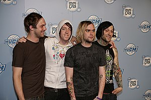 Screamo - Screamo band The Used in 2007