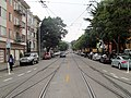 Muni tracks on 17th Street, December 2017.JPG