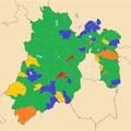 Municipios mexiquenses por alcaldía y partido político (2013-2015).png