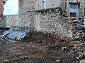 Mur d'enceinte sud du château de Loudes.JPG