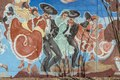 Mural at the Chamizal National Memorial, located in El Paso, Texas, along the United States-Mexico international border LCCN2014630911.tif
