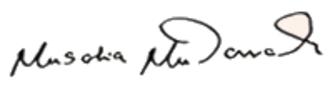 Musalia Mudavadi - Image: Musalia Mudavadi Signature