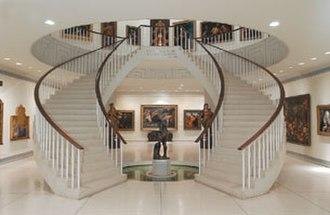 Museo de Arte de Ponce - Main hall of the museum