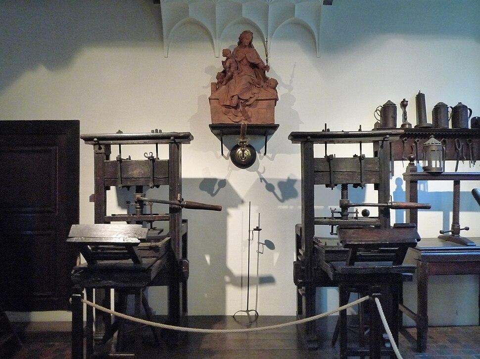 Museum Plantin-Moretus Printing Press