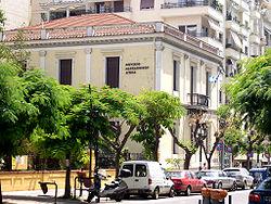 Το Μέγαρο του Ελληνικού Προξενείου Θεσσαλονίκης, έργο του Ερνέστου Τσίλερ, το οποίο, πλέον, φιλοξενεί το Μουσείο Μακεδονικού Αγώνος.