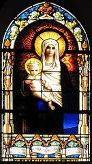 vie de saint Sébastien, vie de saint Maurice, Vierge à l'Enfant à Mutzig