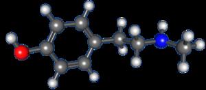 N-Methyltyramine - Image: N Methyltyramine
