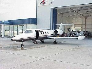 1999 South Dakota Learjet crash - N47BA before its final flight.