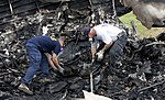 NTSB investigators locate and retrieve the recorders from UPS 1354 (9516119211).jpg