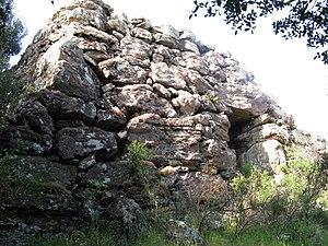 Protonuraghe - Protonuraghe Fronte 'e Mola of Thiesi, province of Sassari