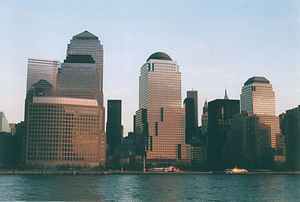Economy of New York City - The World Financial Center, containing the offices of many financial firms.