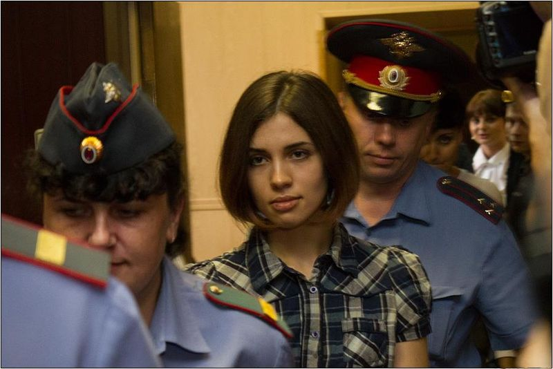 File:Nadezhda Tolokonnikova (Pussy Riot) at the Moscow Tagansky District Court - Denis Bochkarev.jpg