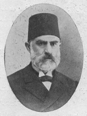 Ahmet Rıza - Nafi Pasha, political opponent of Ahmet Rıza for most of his political career.