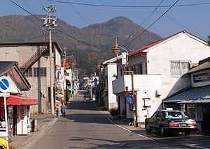 Omi, Nagano - Nagano Route 429 in Omi Village