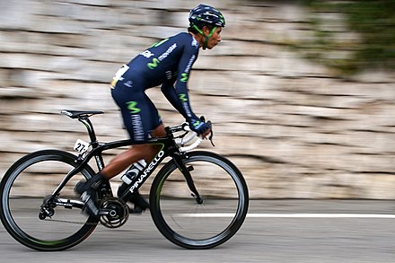 Nairo Quintana: Colombian Champion of the Giro d'Italia and the Vuelta a Espana Nairo Quintana, Paris-Nice 2013.JPG